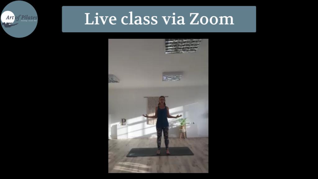 Group class via Zoom