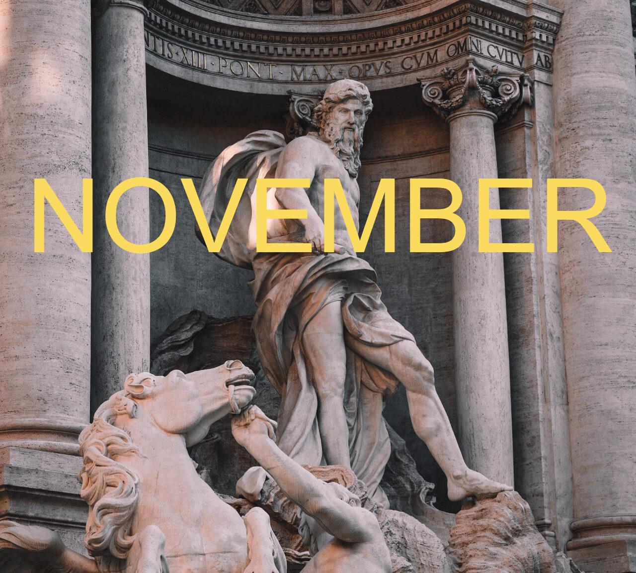 Psychic Sibyl : Your Monthly Horrorscope   November